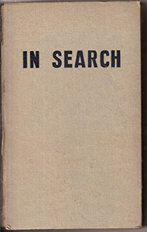 IN SEARCH, AN AUTOBIOGRAPHY.: Levin, Meyer.