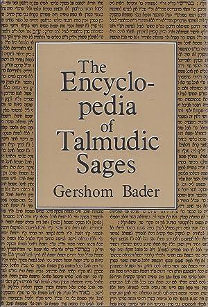 THE ENCYCLOPEDIA OF TALMUDIC SAGES: Gershom Bader