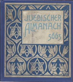 JUEDISCHER ALAMANACH 5663: Feiwel, Berthold and