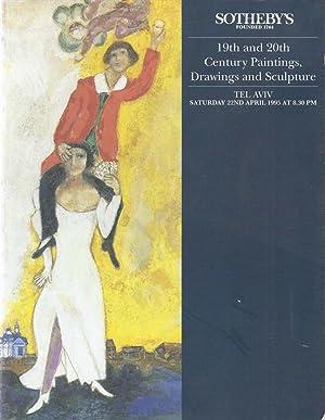 4 JUDAICA AUCTION CATALOGS FROM SOTHEBY'S TEL-AVIV, JERUSALEM (2X) , LONDON – 1986 - 2000: Sotheby'...