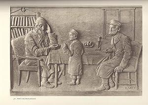 A YIDISH SHTETL IN HOLZ SKUPLTUR: Satt, Bernard