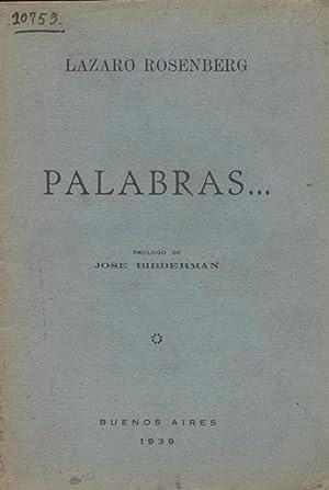 PALABRAS: Rosenberg, Lázaro