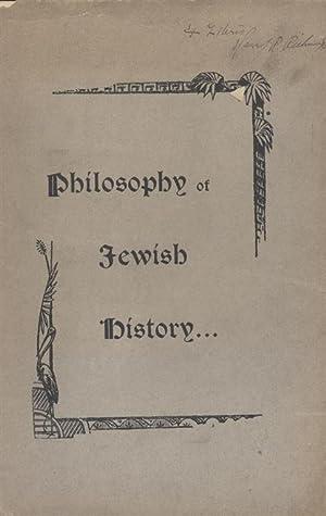 PHILOSOPHY OF JEWISH HISTORY: Deutsch, Gotthard