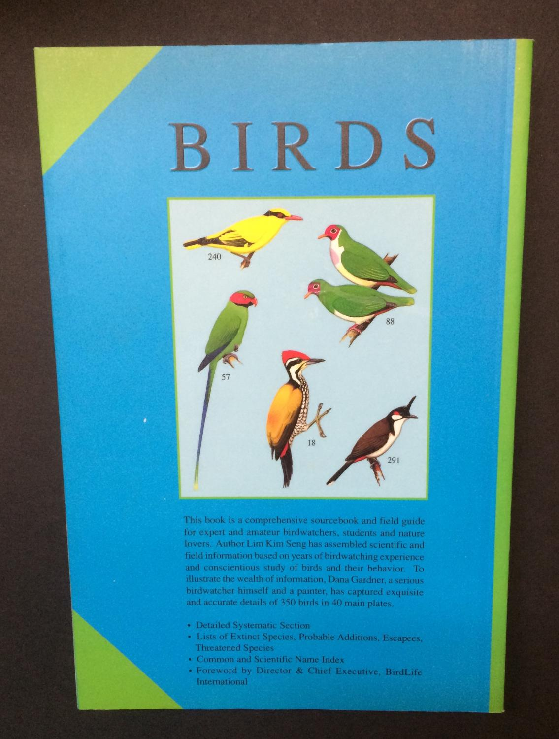 Birds An Illustrated Field Guide to the Birds of Singapore