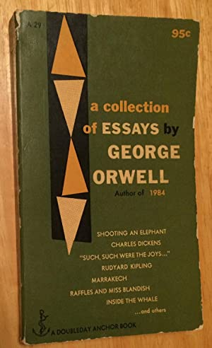 marrakech essay george orwell Literature network » george orwell articles on george orwell  orwell's 'marrakech'(essay by author george orwell)  works of george orwell: essay.