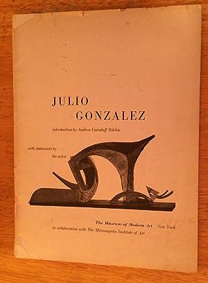 Julio Gonzalez: Andrew Carnduff Ritchie,