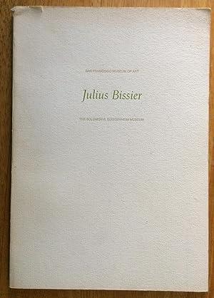 Julius Bissier 1893 - 1965 A Retrospective: Thomas M. Messer
