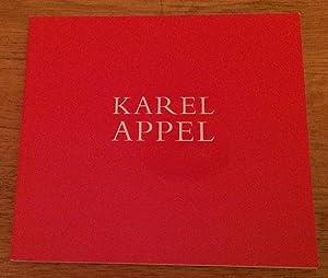 Karel Appel. Recent Work