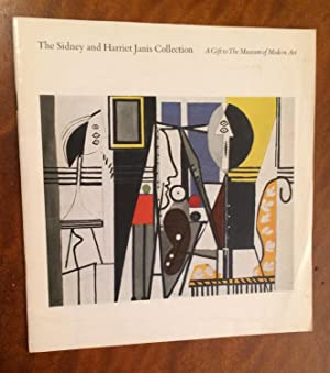 The Sidney and Harriet Janis Collection. A Gift to The Museum of Modern Art