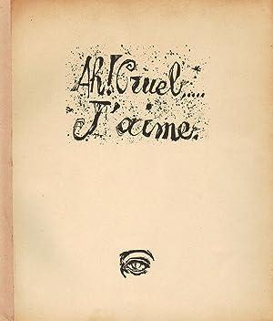 Prima stampa della Scena V dell'atto II: UNGARETTI Giuseppe -