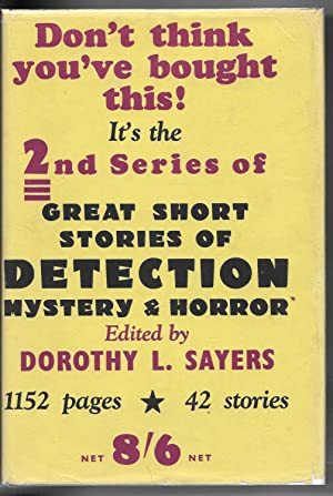 Great Short Stories of Detection, Mystery and Horror: Second Series