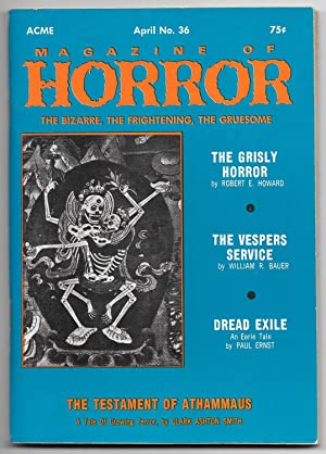 Magazine of Horror: Vol. 6, No. 6