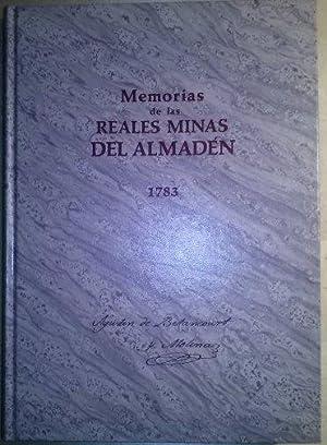 Memoria de las Reales minas de Almadén: Betancourt y Molina,