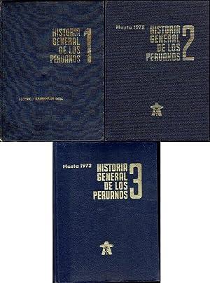 Historia general de los peruanos. 3 volúmenes: Kaufmann Doig, Federico