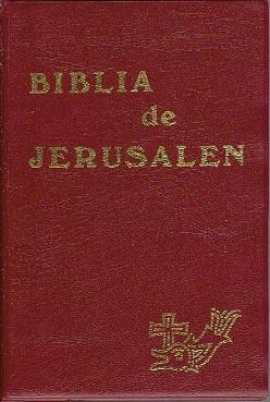 Biblia de Jerusalén: Sin autor