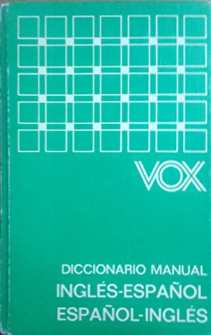 9c5a327ab5c70 Diccionario manual Inglés-Español