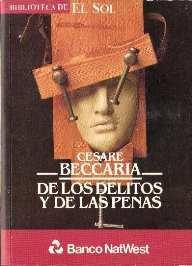 De los delitos y de las penas: Beccaria, Cesare
