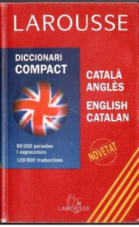 Diccionari compact Catalá Anglès-English Catalan