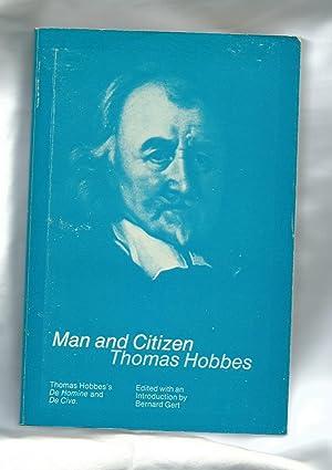 Man and Citizen: Hobbes, Thomas