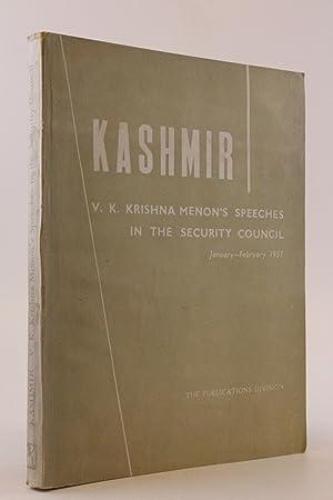 Kashmir V. K. Krishna Menon s Speeches: ohne Autor