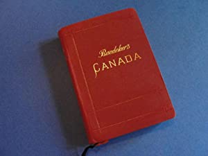 1907 Baedeker Guide: The Dominion of Canada: Baedeker