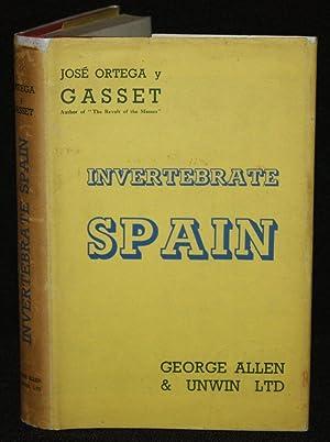 Invertebrate Spain: José Ortega y