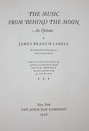 The Music From Behind the Moon: James Branch Cabell