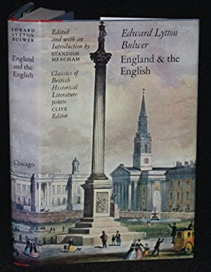 England and the English: Edward Lytton Bulwer