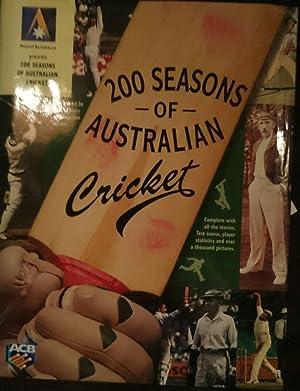200 Seasons of Australian Cricket: Austin, C.K.