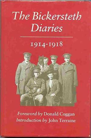 THE BICKERSTETH DIARIES 1914-1918: Donald Coggan, (foreword)