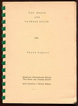Das Beste Aus Caissas Reich, 1960, Chess Digest