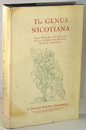 The Genus Nicotiana: Origins, Relationships and Evolution of its Species in the Light of their ...