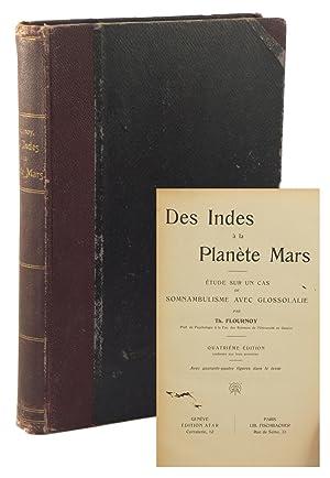 Des Indes à la Planète Mars: étude sur un cas de somnambulisme avec ...