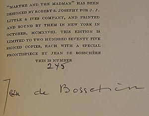 Marthe and the Madman: de Bossch�re, Jean