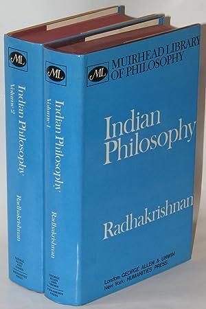 Indian Philosophy (2 Volumes) (Muirhead Library of Philosophy): RADHAKRISHNAN