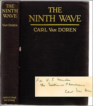 The Ninth Wave (Association Copy): MENCKEN, H. L.]; VAN DOREN, Carl