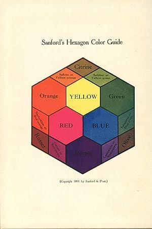 Sanford's Manual of Color: SANFORD, John Ithiel