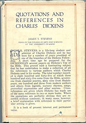 Quotations and References in Charles Dickens: STEVENS, James S.