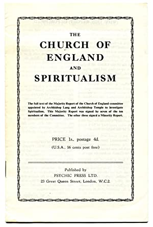 The Church of England and Spiritualism