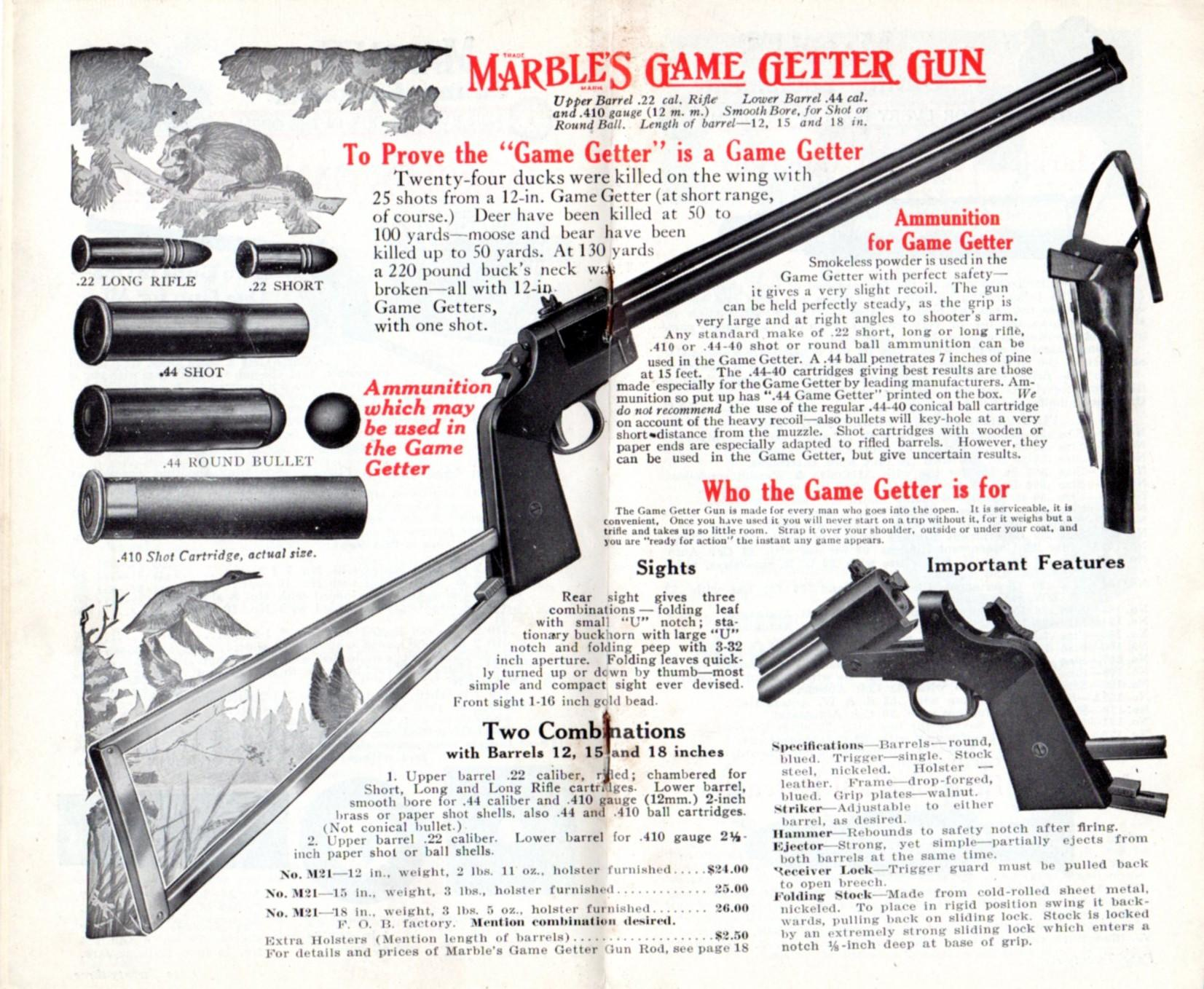 Marble's Outing Equipment (CATALOG)
