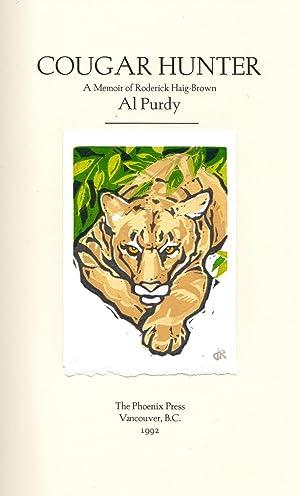 Cougar Hunter: a Memoir of Roderick Haig-Brown: Purdy, Al