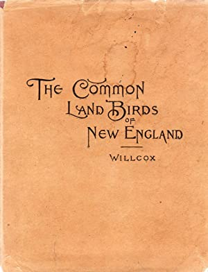 Pocket Guide to the Common Land Birds of New England (in uncommon dust jacket)