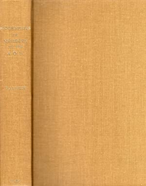 Biographies of Members of the American Ornithologists' Union