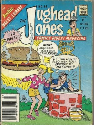 JUGHEAD JONES Comics Digest Magazine No. 64