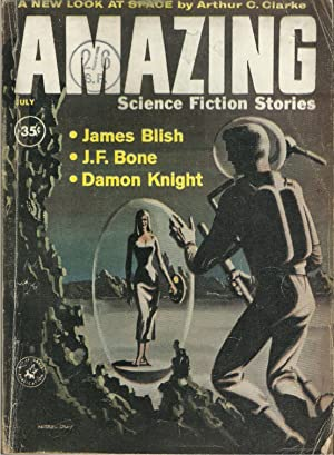 Amazing Science Fiction Stories July 1960, Vol 34, No. 7