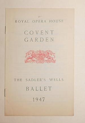 Royal Opera House, Covent Garden - The: Sadler's Wells Ballet