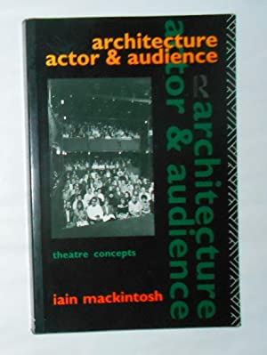 Architecture, Actor and Audience (Theatre Concepts)