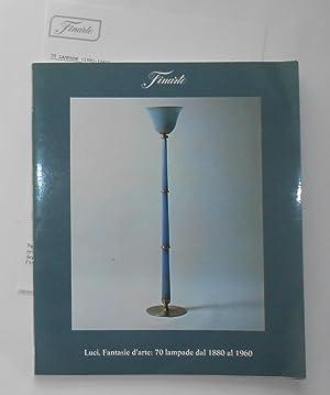 Luci - Fantasie d'arte - 70 Lampade: Finarte, Milano