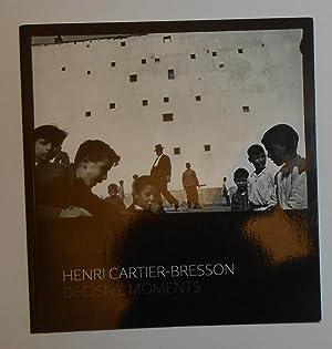 Henri Cartier-Bresson - Decisive Moments ( Fine: CARTIER-BRESSON, Henri ]