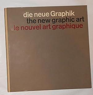 Die Neue Graphik / the New Graphic: GERSTNER, Karl and